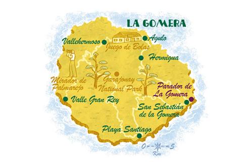 La Gomera Climate Splash Gomera
